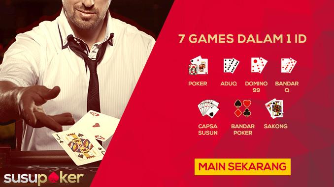 Bandar Poker Online Sediakan 7 Judi Kartu Eksklusif
